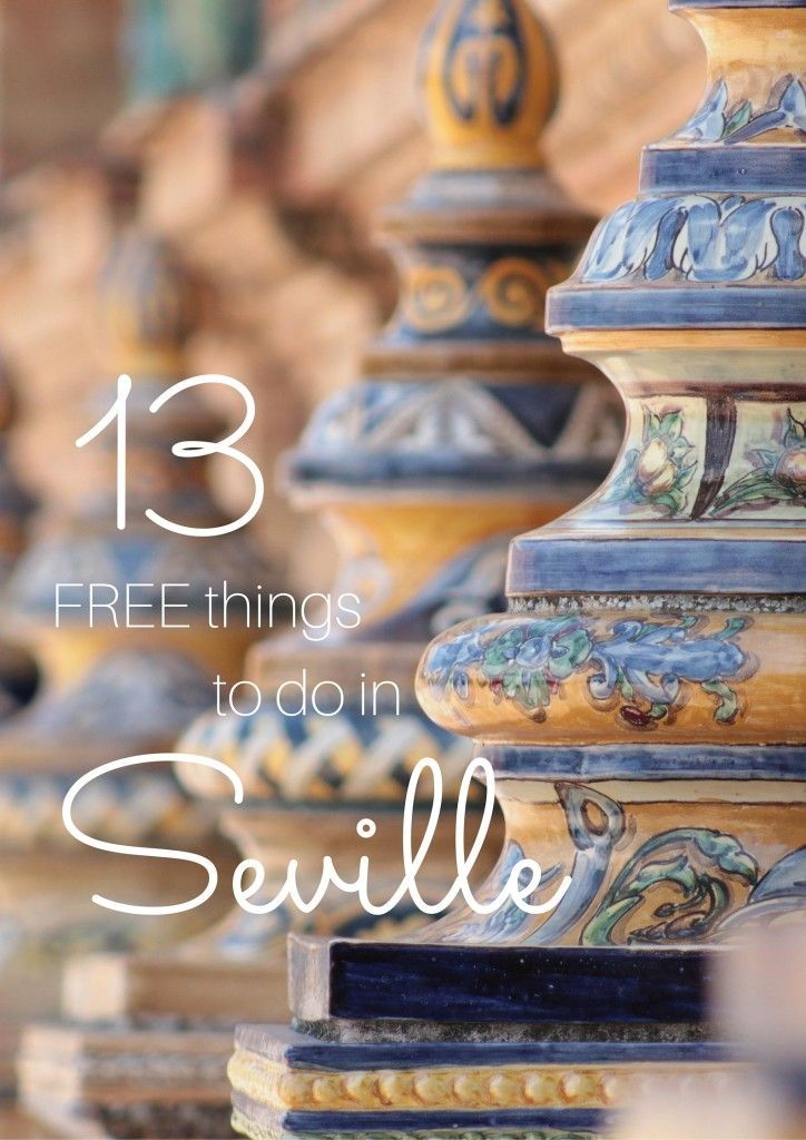 13 Free Things to do in #Seville  Want to have your travel paid for and know someone looking to hire top tech talent? Email me at carlos@recruitingforgood.com