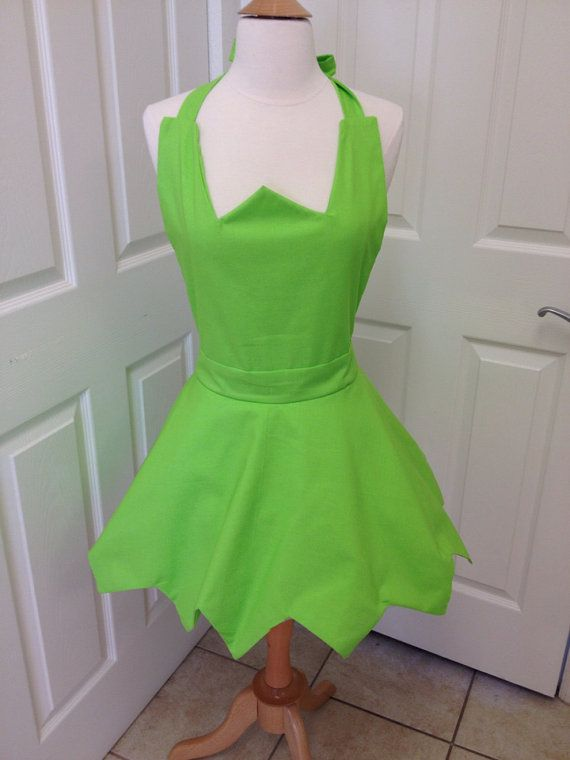 TinkerBell adult apron by AJsCafe on Etsy, $40.00