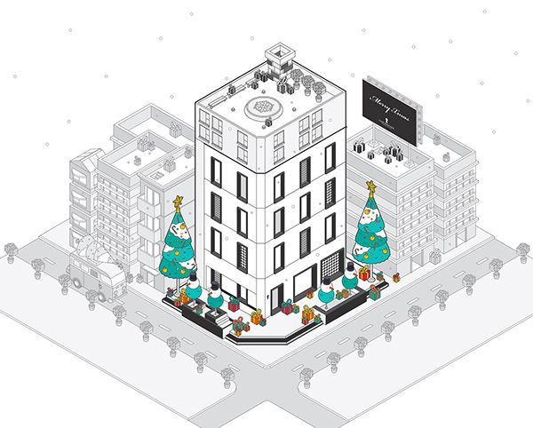 Club Designer Website Illustration on Behance KuoCheng Liao