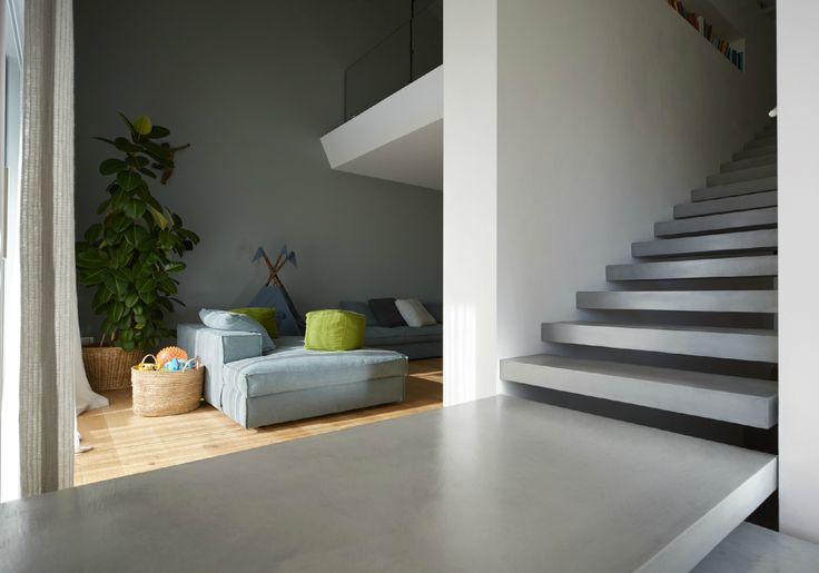 Microcement effect: neutrality and rigour to the space. #Microtopping