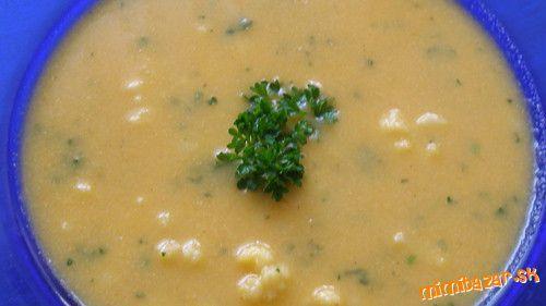 Jednoduchá,rýýchla-zdravá:)karfiolová polievka