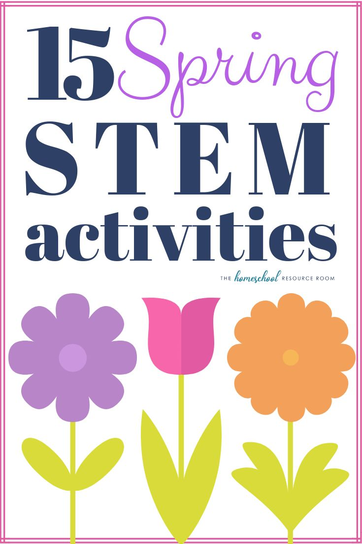 15 Spring STEM activities to encourage hands-on learning in science, technology,... 2