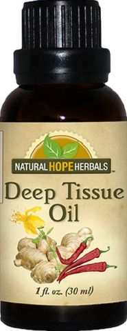 DEEP TISSUE OIL Natural Warming Massage for Sore Joints & Muscles