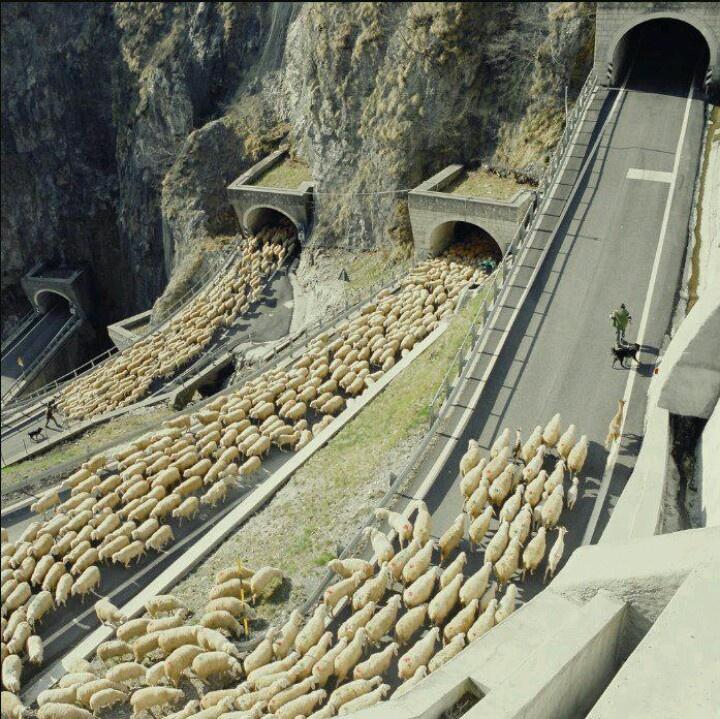 San Boldo Pass, Italy