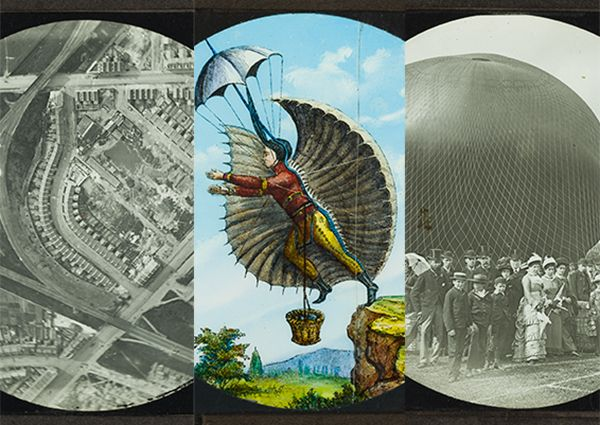 Historic England newsletter April 2016, including news about the Shadbolt collection of lantern slides - the earliest aerial photography of England.