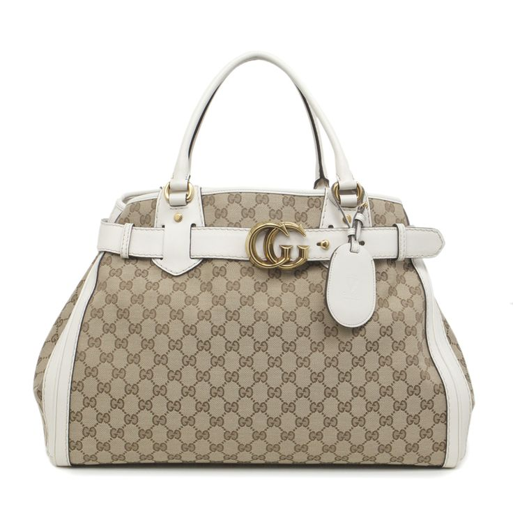 Gucci Monogram Canvas Large GG Running Tote - modaselle