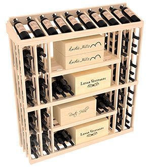 Base Case W/Display Top | RetailEdge Series™ Wine Rack
