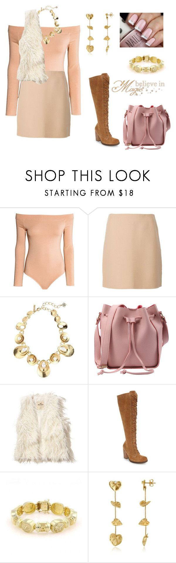 """""""Skirt person"""" by julie-ruud ❤ liked on Polyvore featuring Theory, Oscar de la Renta, Hollister Co., Latigo and Torrini"""