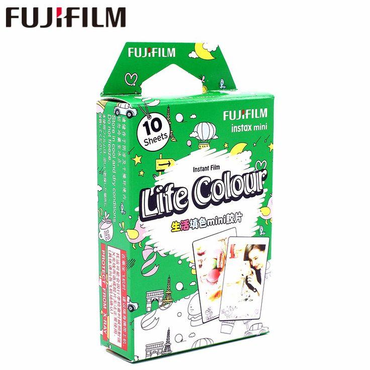 Buy US $11.31  New Fujifilm 10 sheets Instax Mini Life Color Instant Film photo paper for Instax Mini 8 7s 25 50s 90 9 SP-1 SP-2 Camera  #Fujifilm #sheets #Instax #Mini #Life #Color #Instant #Film #photo #paper #Camera  #OnlineShop