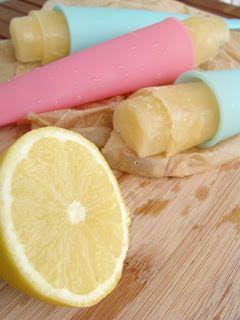 Zitronen-Wassereis