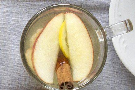 Infusion de Pomme, gingembre, miel, citron et cannelle