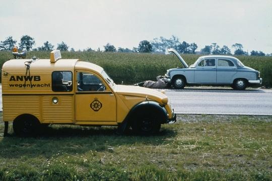 OG   Citroën 2CV AK 350 Fourgonnette / Van   #Wegenwacht #ANWB