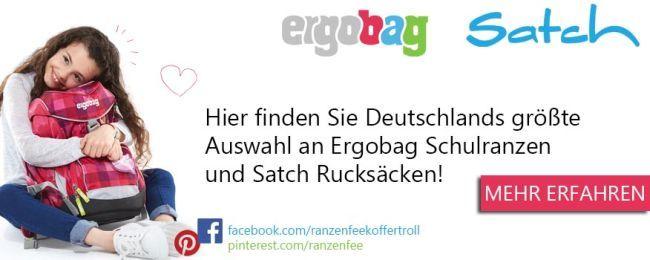 Deutschlands größte Auswahl an Ergobag und Satch Schulranzen
