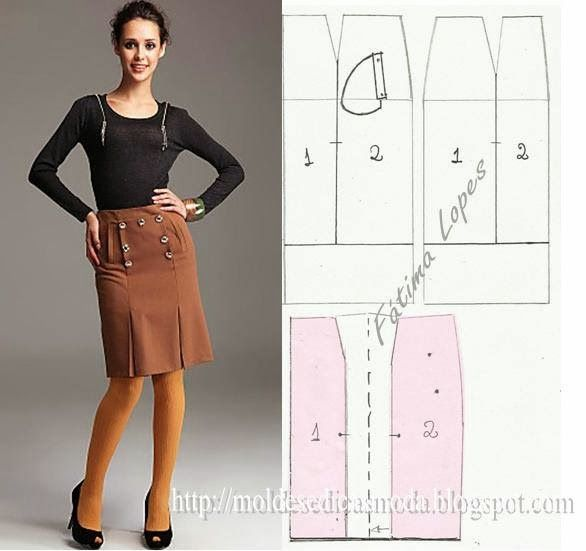 SKIRTS ~ Templates Fashion by Measure