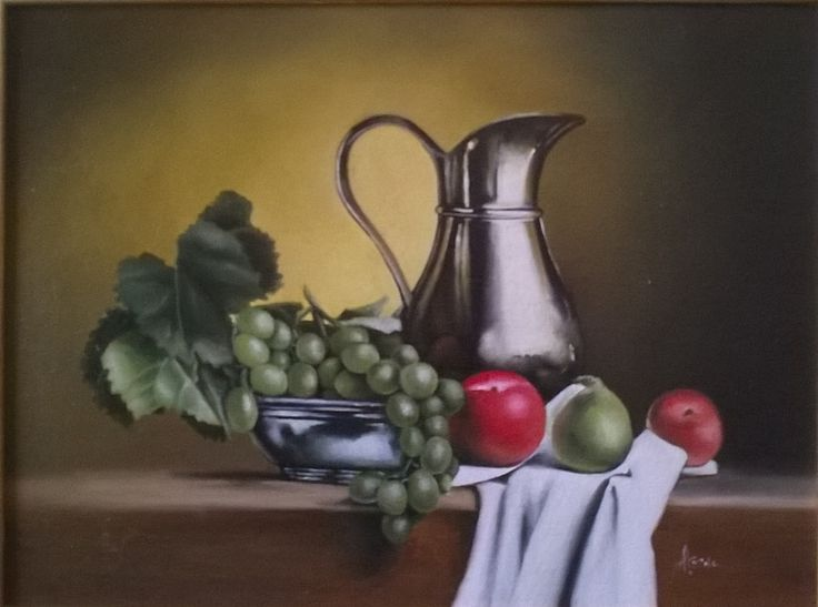 Still Life N 222, 30x40 cm, 2011, Oil painting, Inspirational Examples