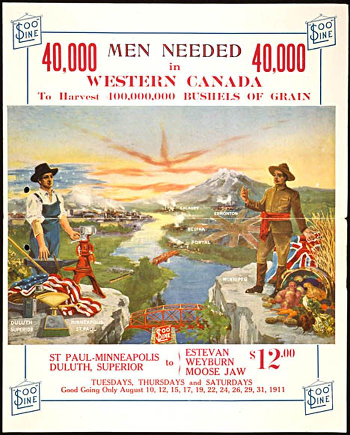 Canadian Immigration Poster