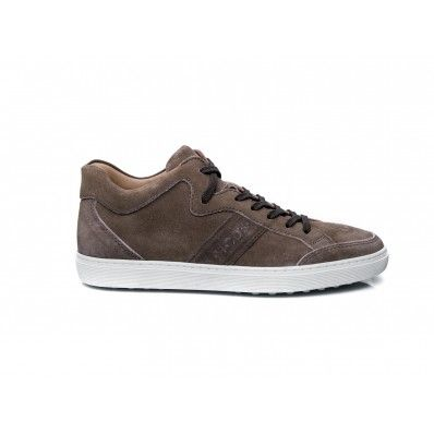 TOD'S - Sneakers in suede fango - #Tod's - repin by Elsa-boutique.