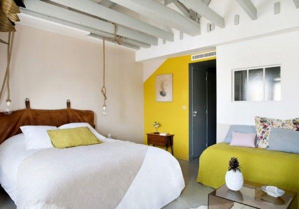 De mooiste slaapkamer van Hotel Henriette in Parijs   HOMEASE