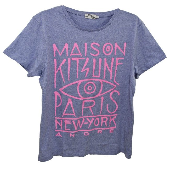 ~ Kitsune - Maison Kitsune Paris/New York Tee ~