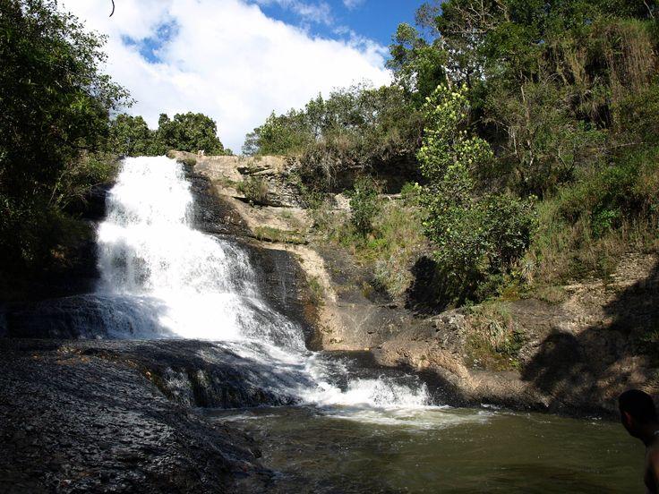 Cascada en Villa de Leyva