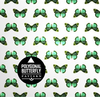 vintage butterflies seamless pattern vector