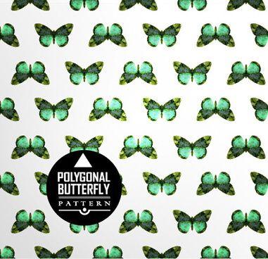 vintage butterflies seamless pattern vector