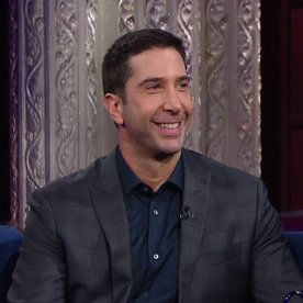 """See David Schwimmer's High Maintenance College Hair: """"You Had Hair That Kylo Ren Would Love"""""""