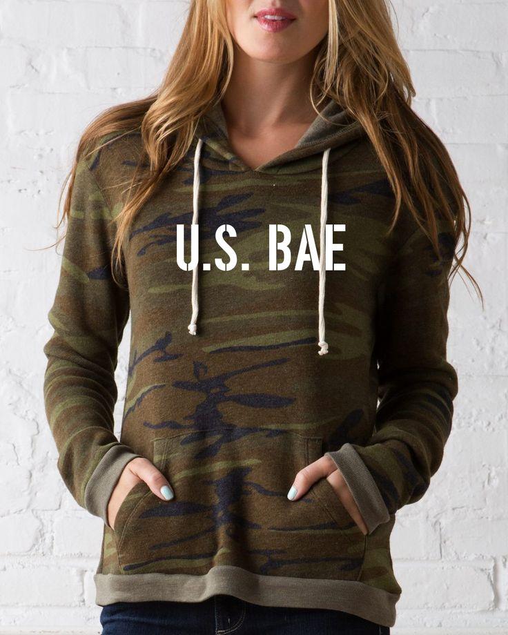 U.S. Bae Camouflage Hoodie