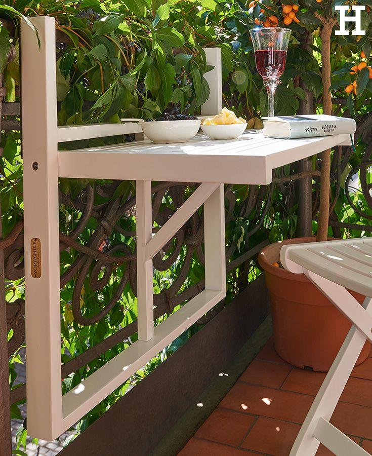 Fresh Perfekt f r ein gem tliches Glas Wein und ein gutes Buch auf dem Balkon klapptisch BookBalconyGlassGarden