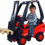 Why wasn't this fork lift around when I was a kid? G.I. Joe was cool, but c'mon LOL