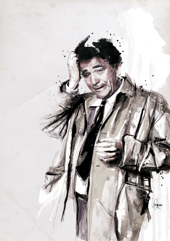 Movie Characters by Florian NICOLLE, via Behance