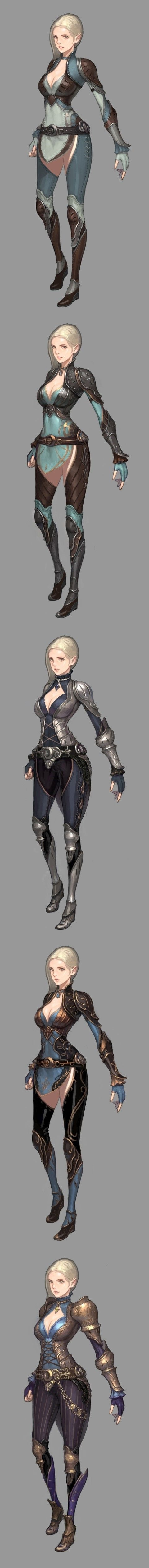 Female: Battle Armour