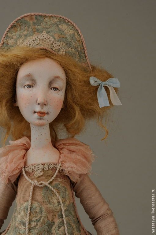 """Купить Авторская кукла """"Принцесса Лукреция"""" - бледно-розовый, кукла, авторская кукла, принцесса"""