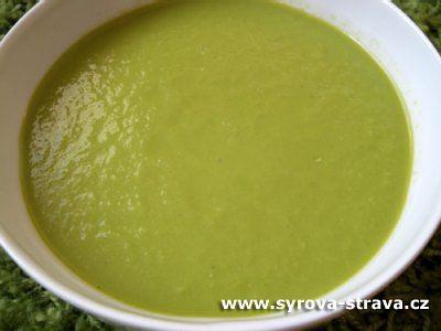Špenátovo-dýňová polévka (raw food) :: Syrová strava
