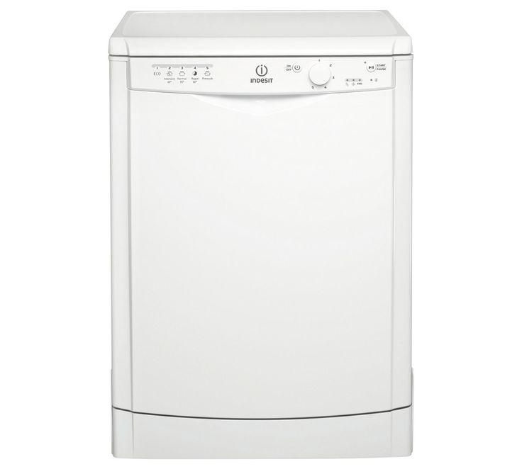 Buy Indesit DFG15B1 Full Size Dishwasher - White at Argos.co.uk, visit Argos.co.uk to shop online for Dishwashers, Large kitchen appliances, Home and garden