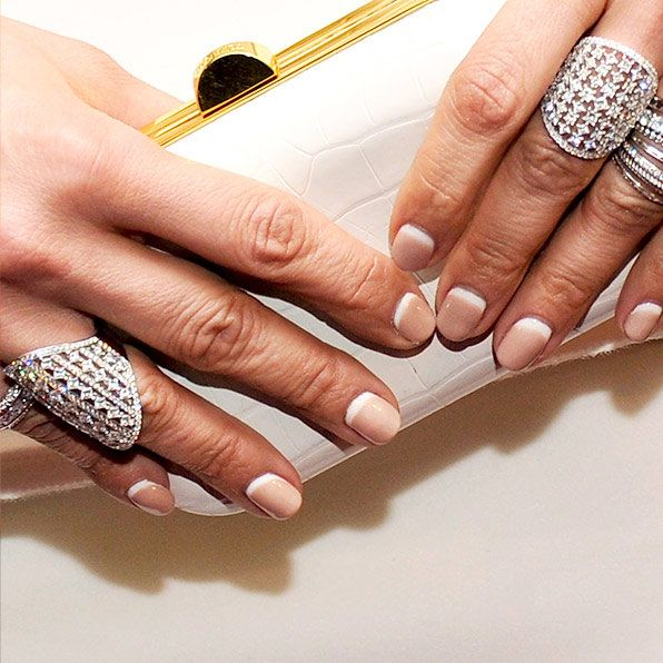 Reverse French Manicure. I'm curious about trying this.