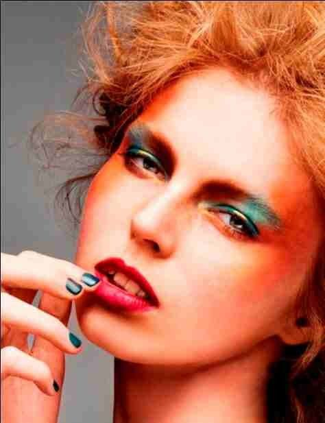 High fashion shoot inspired by Autumn colours