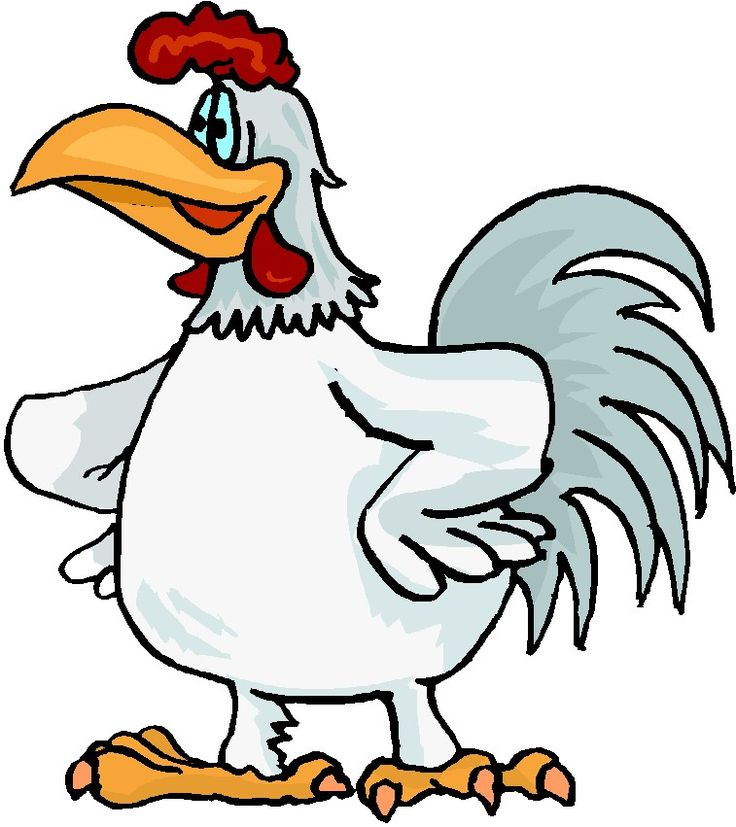 Image result for rooster crowing clipart