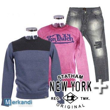 Vendita all'ingrosso di abbigliamento da uomo brand STATHAM #88852 | Abbigliamento uomo | merkandi.it