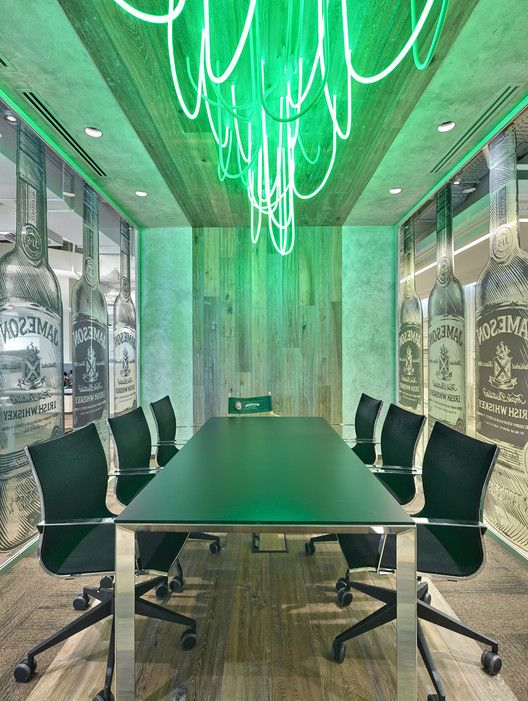 Pernod Ricard Rouss Office,Courtesy of UNK project