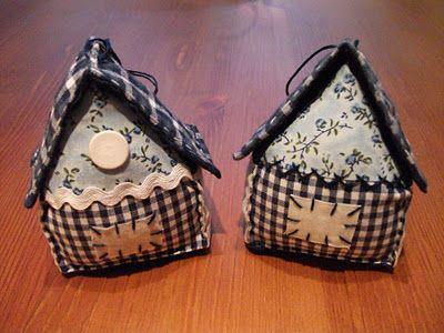 quappwurms quilts: Tutorial Mini-Häuschen