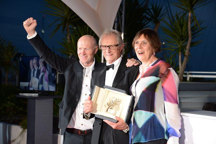 Ken Loach -remporté sa deuxième Palme d'Or de sa carrière pour son film Daniel Blake - Cannes 2016