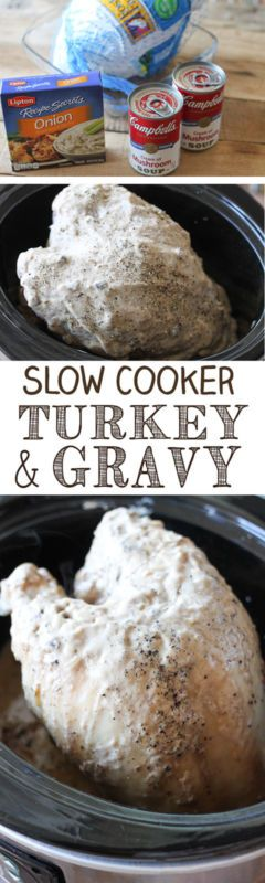 If you are cooking a small Thanksgiving meal or just in the mood for a turkey dinner, you are going to love this recipe! A juicy turkey breast easily made in the slow cooker, and the best part is, it makes...
