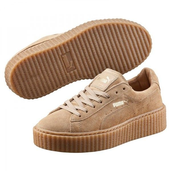 puma creepers beige paris