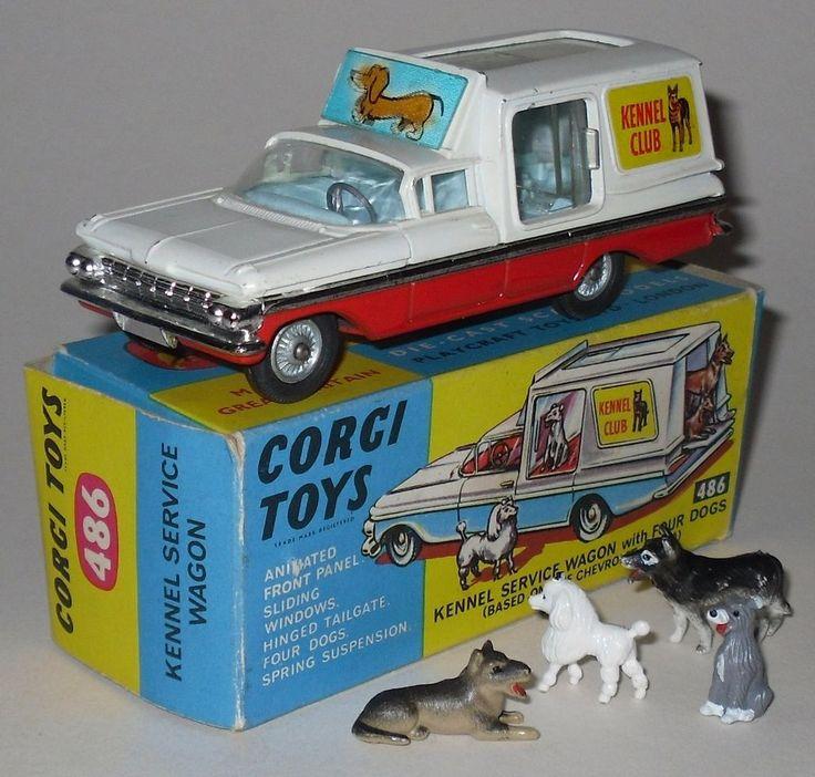 #486 Corgi Chevrolet Kennel Club Van
