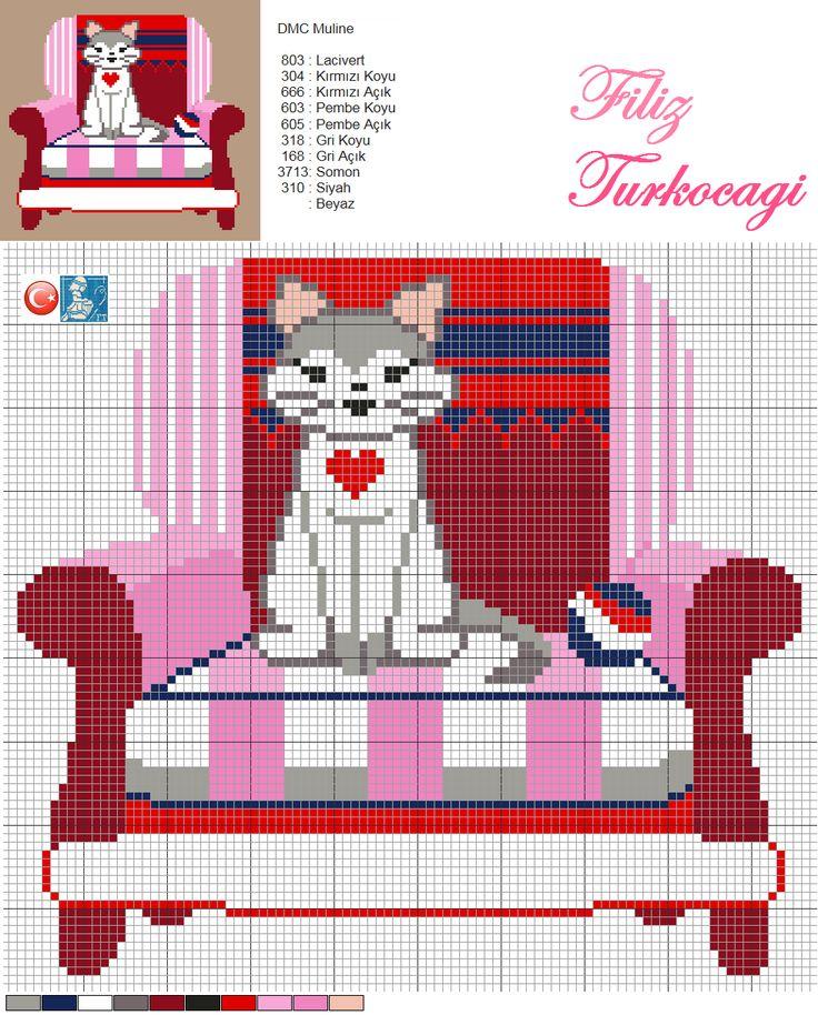 Seri-6 Kedicik :))) Kedicik geri sayımda 3.sırada ...İki, bir ve sıfır diye gideceğimi bilmenizi istedim :))) Designed by Filiz Türkocağı...