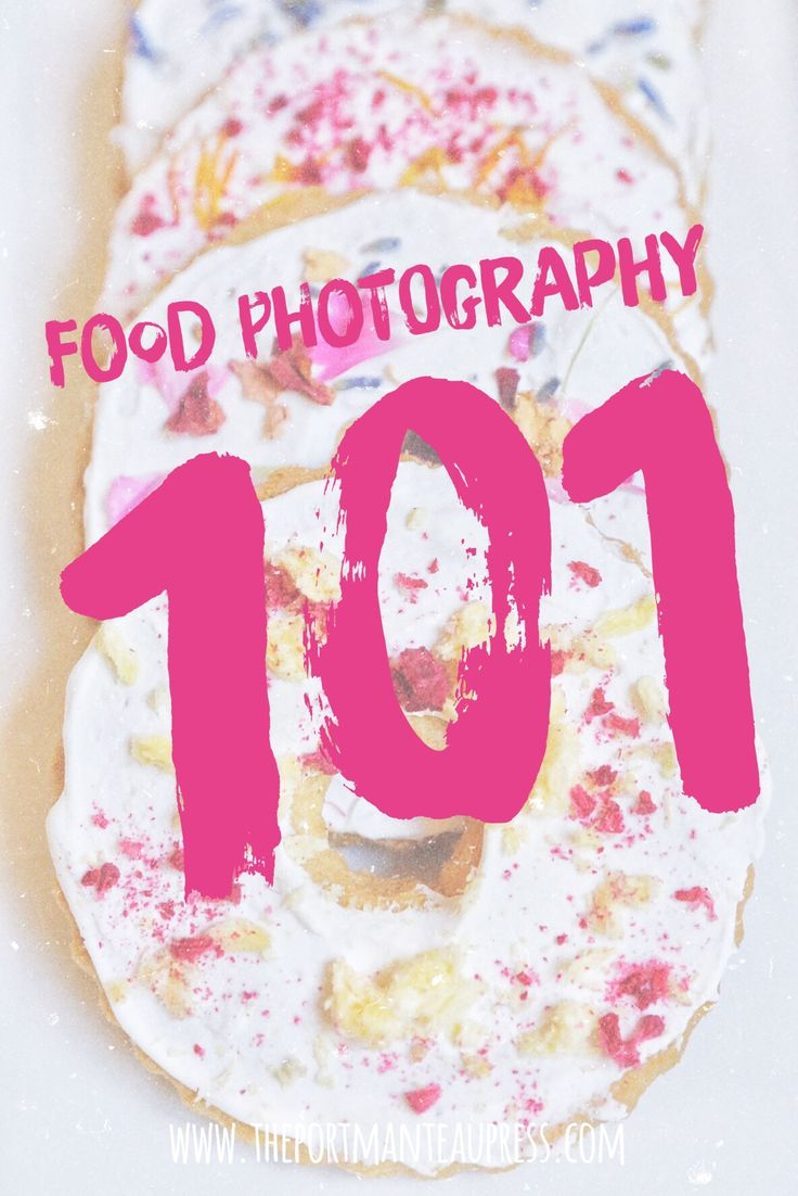 A food photographer's guide to taking photos of food. #foodporn
