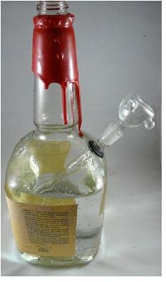 Using the right liquor bottle for your bong not only saves money, but will give you a strong, reliable piece that looks impressive too!