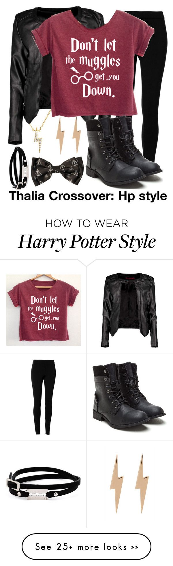 """""""Thalia crossover/tris"""" by fandominsanity15 on Polyvore featuring Mode, Max Studio, Sugar Bean Jewelry, Boohoo, Edge Only und McQ by Alexander McQueen"""