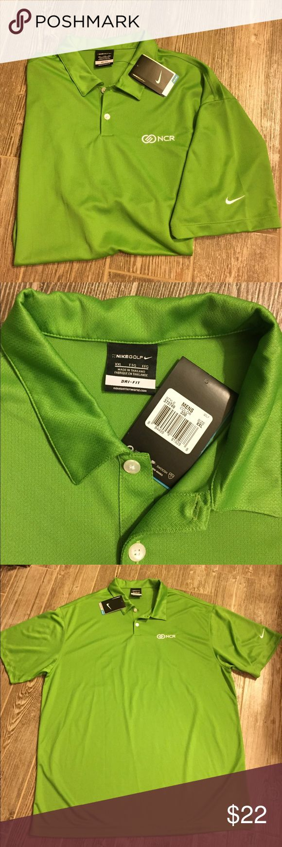 NWT Nike Golf Polo Shirt 2XL New with tags.   Size 2XL From a smoke and animal free house. Nike Shirts Polos
